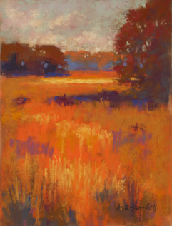 Fall Marsh Ablaze