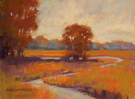Autumn Marsh Creek