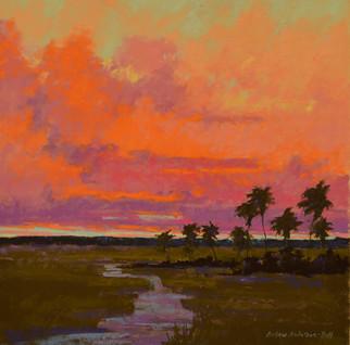 Majestic Sunset Sky