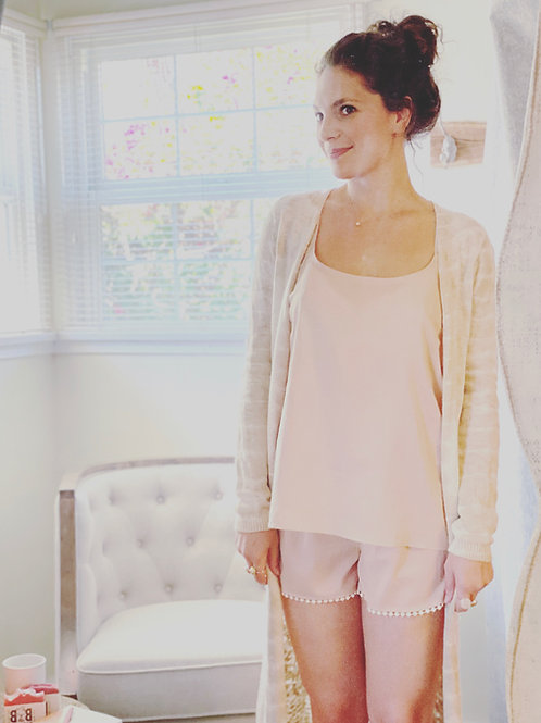 Light Pink soft PJ set