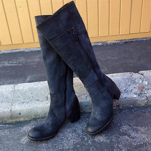 Gidigio Charcoal Suede Tall Boots