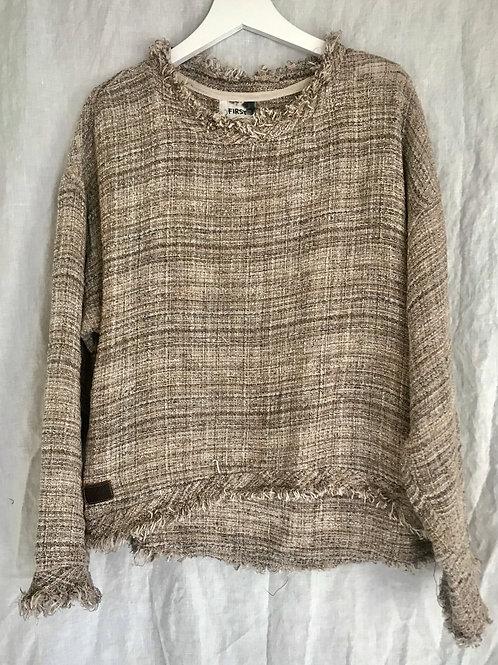 Saturday Sweater Almond Roca