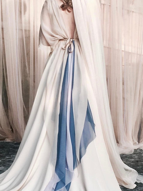"""I Believe in You"" - Custom Wedding Dress"