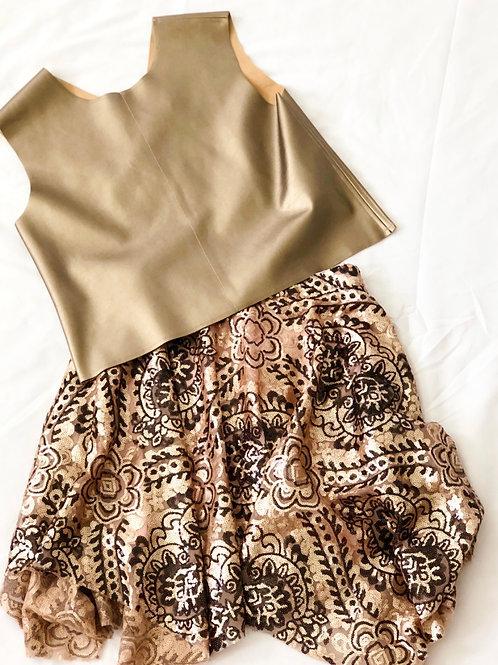 kidFCLA Holiday Sequin Skirt