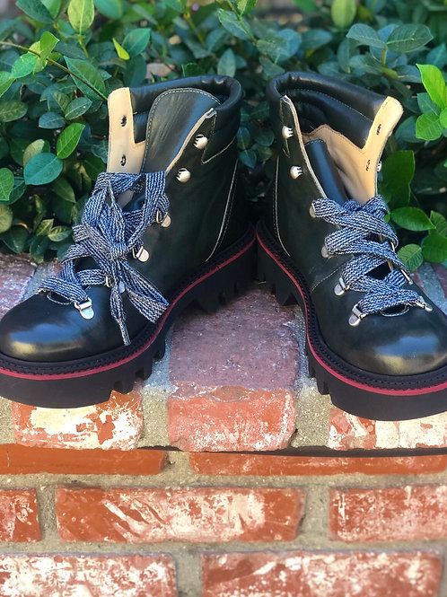 Gidigio - Leather Mountain Boot - Olive