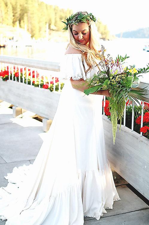 """We've Only Just Begun"" - Custom Wedding Dress"