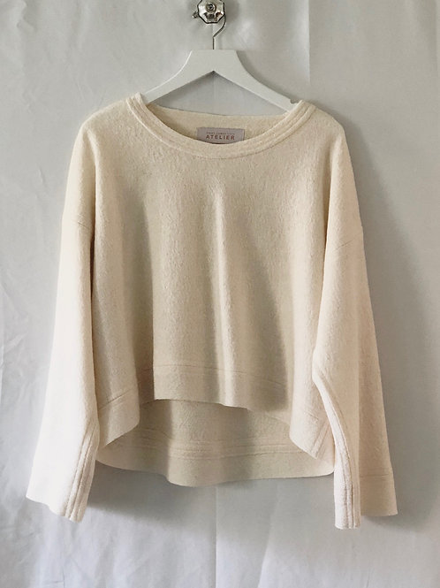 Saturday Sweater Vanilla Bark