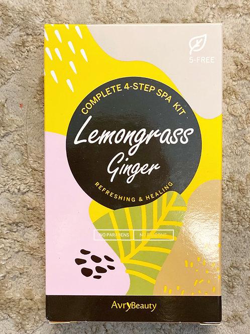 lemongrass ginger Spa Kit