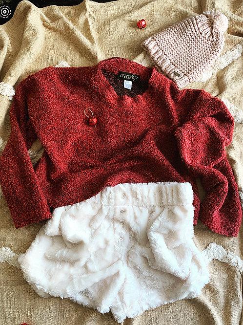 Saturday Sweater Cinnamon Bark