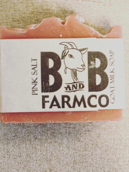 Pink Sea Salt B & B Farms co.