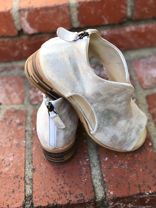 Gidigio - Laminato Argento - Metallic Sandal
