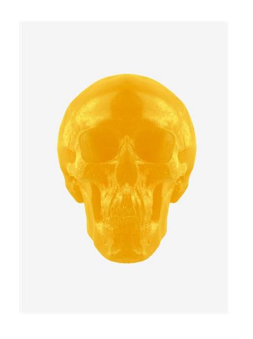 World's Largest Gummy Skull (Lemon)