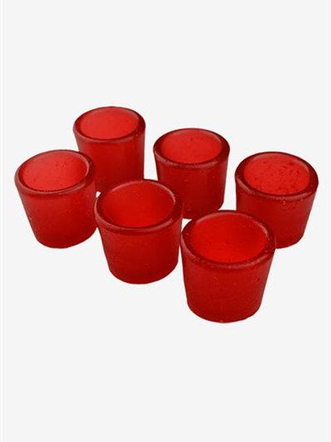 Gummy Shot Glass 6-Pack (Cherry)