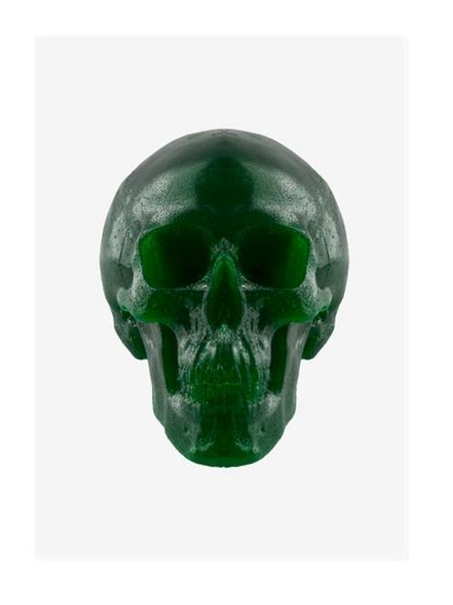 World's Largest Gummy Skull (Sour Apple)