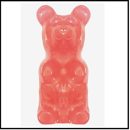 World's Largest Gummy Bear - Fruity Bubblegum