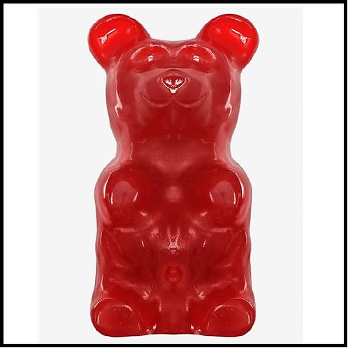 World's Largest Gummy Bear - Cherry