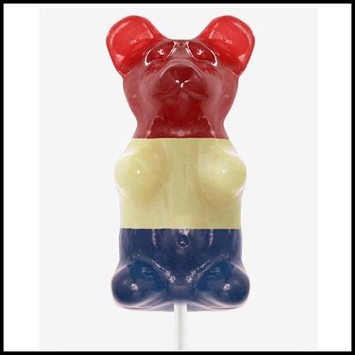 Gigantic Gummy (TM) Bear - Patriotic