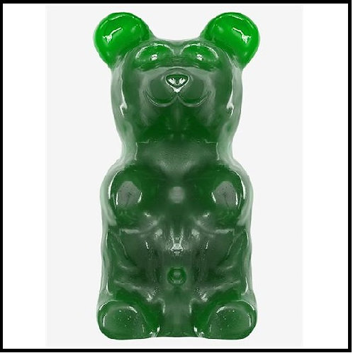 World's Largest Gummy Bear - Green Apple