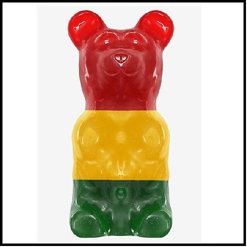 World's Largest Gummy Bear - Rasta