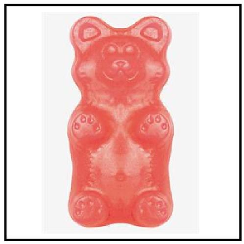 Gummy Grizzly Bear (2 lbs. Bubble Gum)
