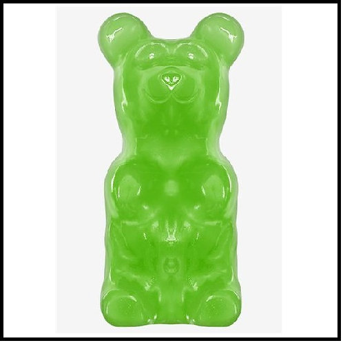 World's Largest Gummy Bear - Lime