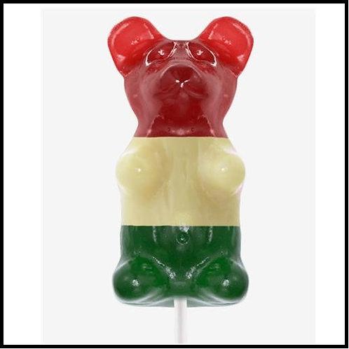 Gigantic Gummy (TM) Bear  -Italian Flag