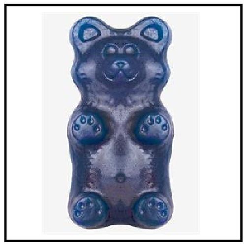 Gummy Grizzly Bear (2 lbs. Blue Raspberry)
