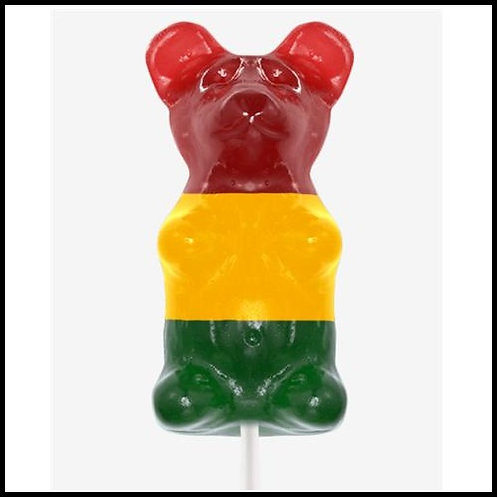 Gigantic Gummy (TM) Bear  - Rasta