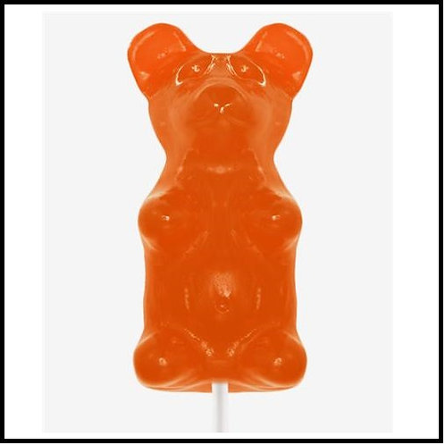 Giant Gummy Bear - Orange