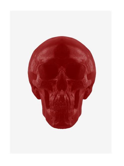 World's Largest Gummy Skull (Cherry)