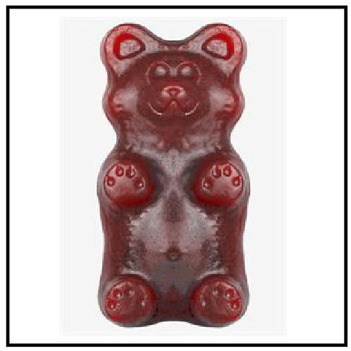 Gummy Grizzly Bear (2 lbs. Cherry Cola)