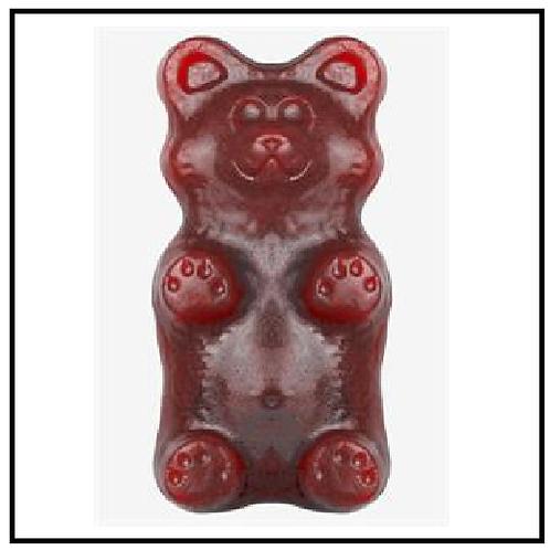 World's Greatest Gummy (TM) Grizzly Bear (2 lbs. Cherry Cola)