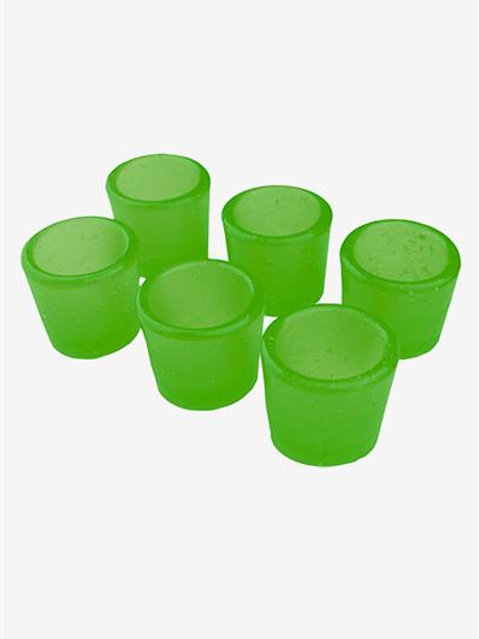 Gummy Shot Glass 6-Pack (Lime)