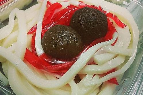 Gummy Spaghetti & Meatballs