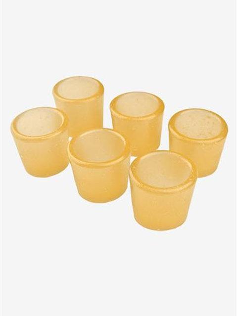 Gummy Shot Glass 6-Pack (Pineapple)