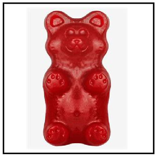 Gummy Grizzly Bear (2 lbs. Cherry)