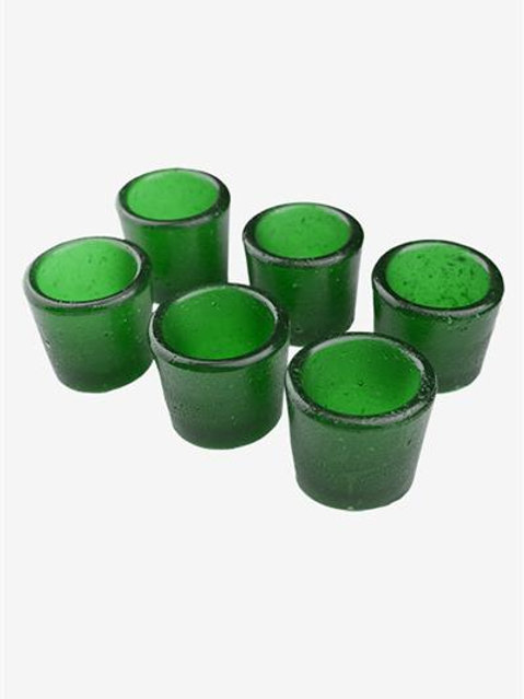 Gummy Shot Glass 6-Pack (Green Apple)