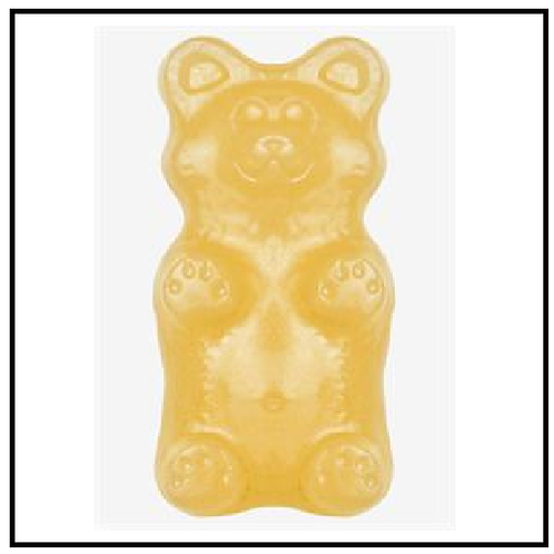 Gummy Grizzly Bear (2 lbs. Pineapple)