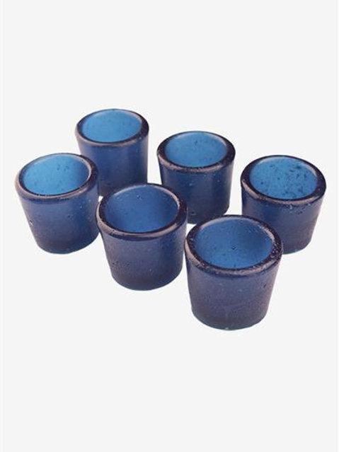 Gummy Shot Glass 6-Pack (Blue Raspberry)