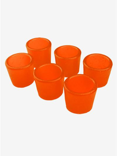 Gummy Shot Glass 6-Pack (Orange)