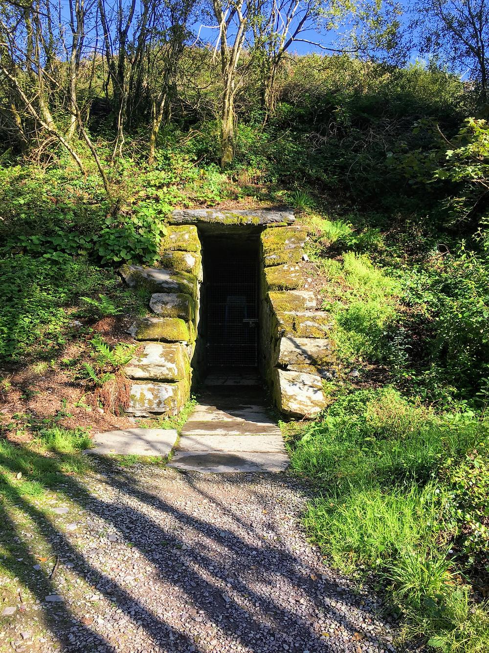 James Turrell Sky Garden in Russagh, County Cork, Ireland, art installation entrance