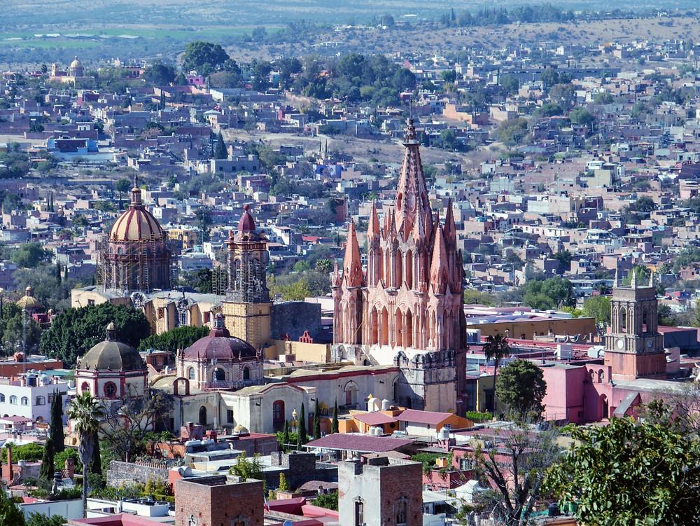 San Miguel de Allende chapel Mexico