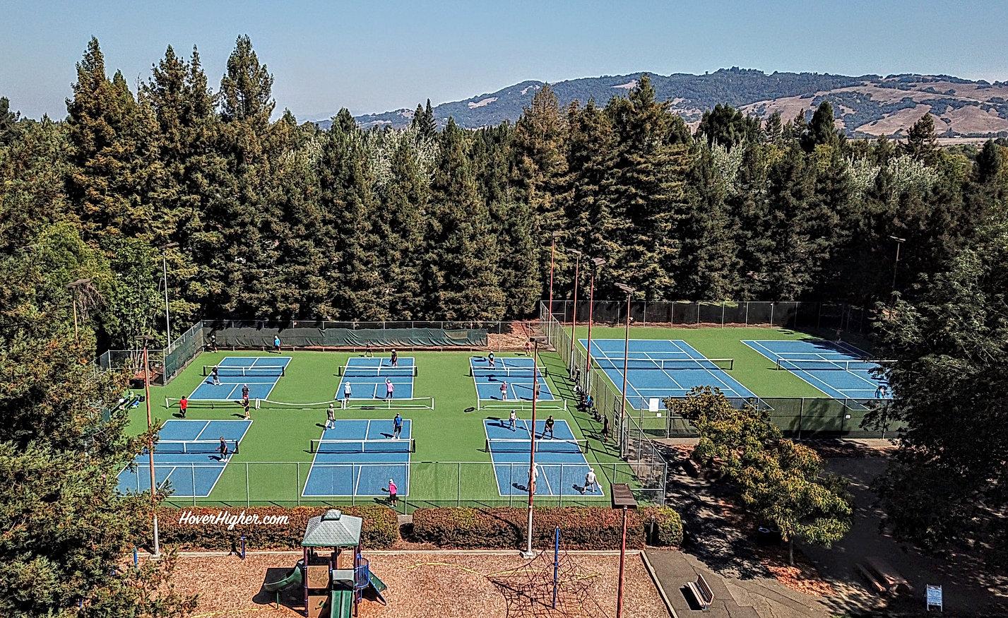 Sunrise Park, Rhonert Park CA Pickleball Courts
