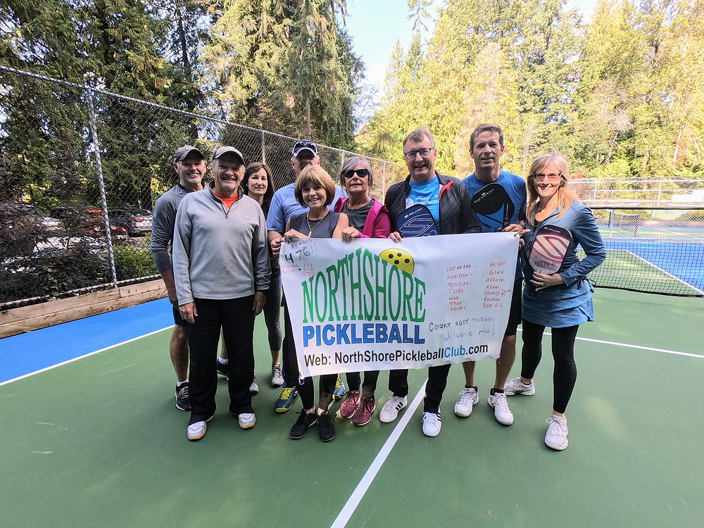 Pickleball Outdoor Northshore Vancouver BC