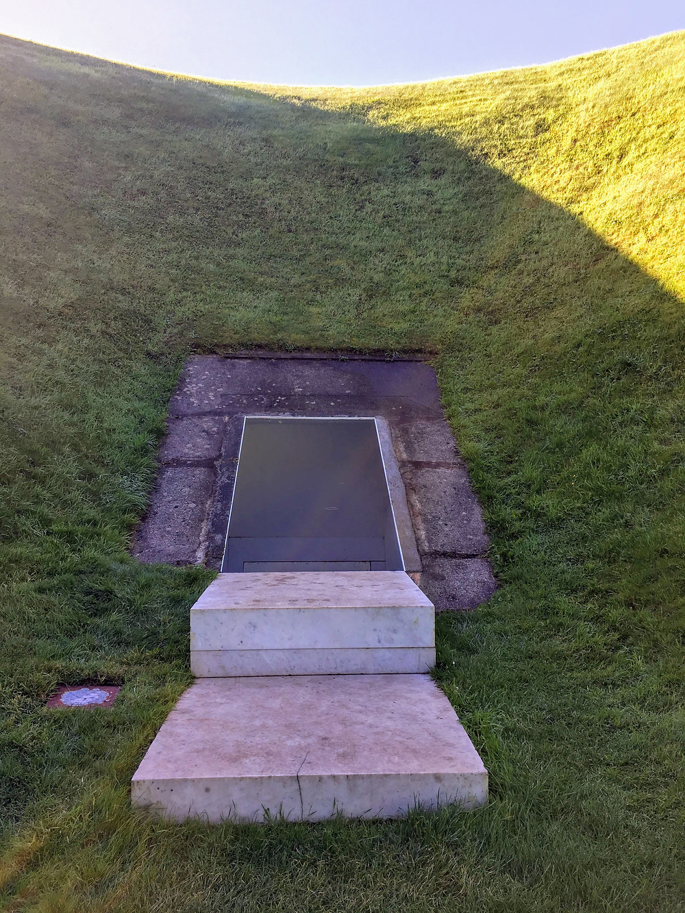 James Turrell Sky Garden in Russagh, County Cork, Ireland, art installation