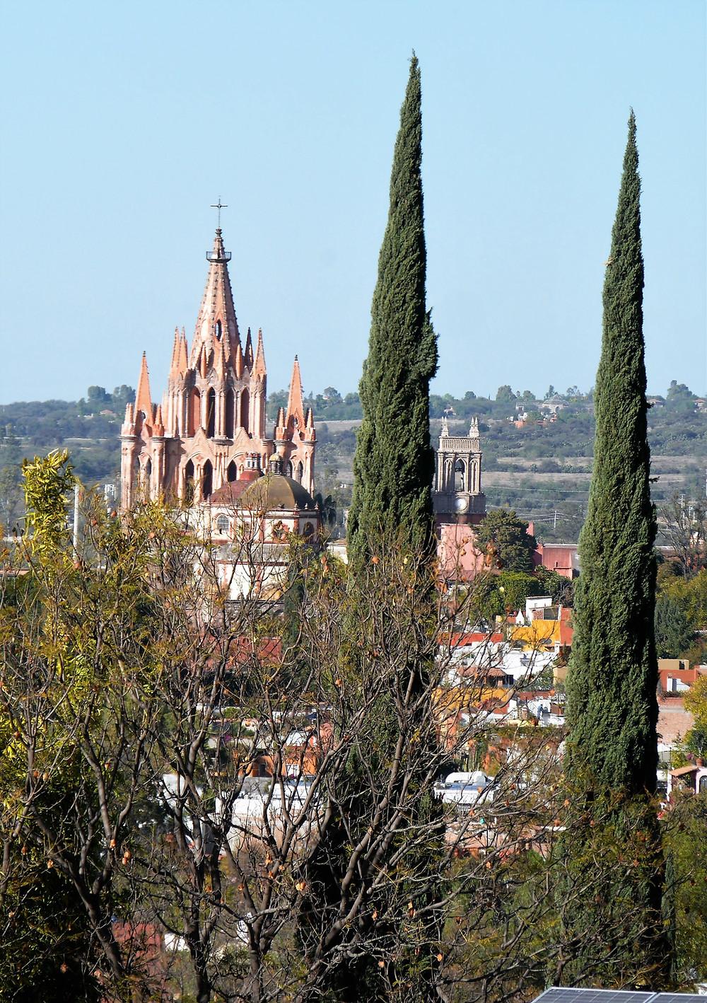 San Miguel de Allende church Mexico