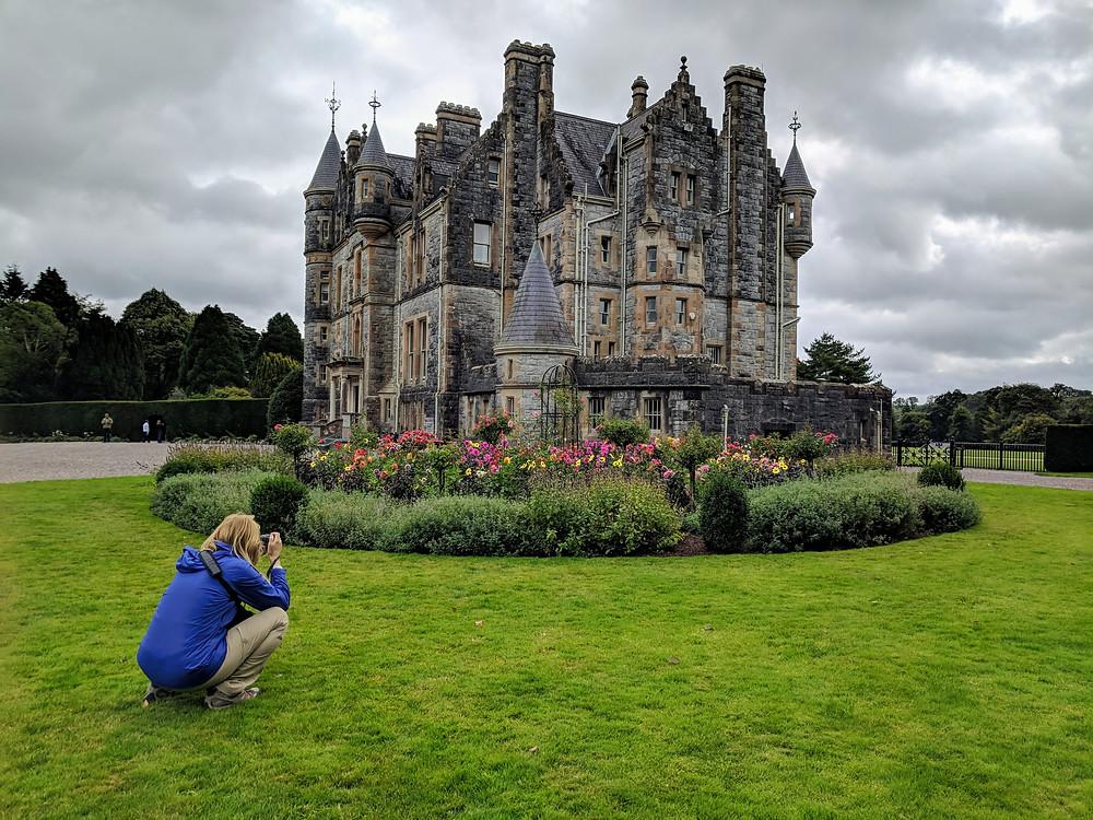Blarney house and Gardens restored historical site County Cork Lissarda Ireland