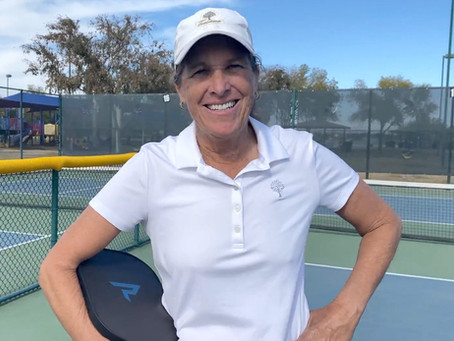 A Pickleball Lesson With a Pro - 3rd in a Series of 12 Dee Ahern