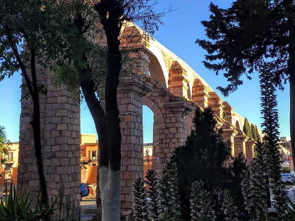 El Cubo aqueduct, Mexico, Zacatecas