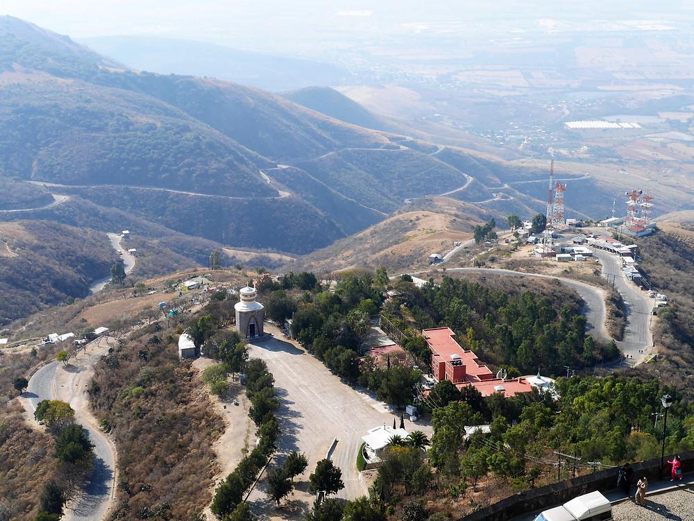 scenic view of Cubileto Mexico